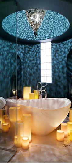 So etwas lässt sich wunderbar mit einer freistehenden #Badewanne aus #Mineralguss von #Bädermax realisieren: http://www.baedermax.de/freistehende-badewannen-Mineralguss.html