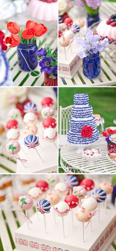 Vintage tea party - Diamond Jubilee  http://www.naomikenton.co.uk