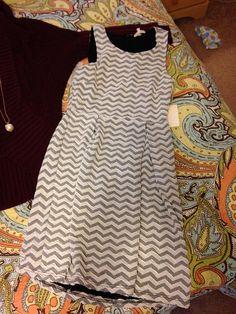 Stitch Fix Item: 41Hawthorn Jace Chevron Print Dress
