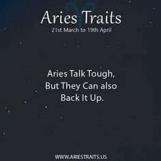 Aries Traits - Aries Personality - Aries Characteristics - Ideas for Aries Men & Women Zodiac Sign Traits, Aries Traits, Best Zodiac Sign, Aries And Scorpio, Aries Ram, Aries Zodiac, Great Quotes, Funny Quotes, April Aries