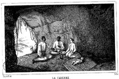 Ilustración de la edición de 1844 de Les Marrons, de Louis Timagène Houat