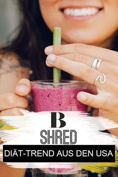 Shred-Diät: Was kann der Trend aus den USA? Die Shred-Diät verspricht zwei Kleidergrö�en weniger in sechs Wochen. Doch kann der neue Abnehm-Trend aus den USA halten, was er verhei�t? #shred #diät #abnehmen #diättipps Fitness Workouts, Fitness Inspiration, Trends, Health Fitness, Engagement, Blog, Dieting Tips, Health And Beauty, Feel Better