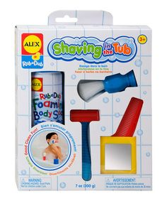Take a look at this Tub Shaving Set by ALEX on #zulily today!
