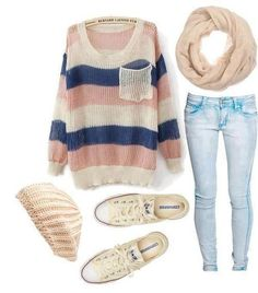 Daily New Fashion : Cute Polyvore Outfits for Winter/Fall