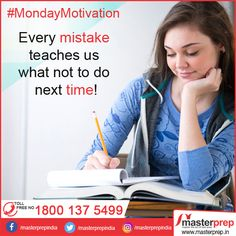 This Monday, resolve to do away with the common mistakes you often make in your day to day #English speaking and writing practice! If you are keen to improve, the expert faculty of #MasterPrep will help you in your endeavour. We are known for providing #Best_English_Training and #Best_IELTS_Coaching. Call us for more details at 1800-137-5499 (Toll Free).