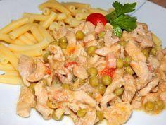 Borsós tokány - NAGYON JÓ Pasta Salad, Potato Salad, Shrimp, Potatoes, Meat, Ethnic Recipes, Food, Crab Pasta Salad, Potato