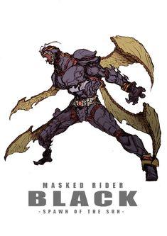 Kamen rider black another character Character Creation, Character Concept, Character Art, Concept Art, Manga Anime, Cultura Nerd, Arte Indie, Arte Cyberpunk, Kamen Rider Series