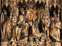 Michael Pacher, St. Wolfgang Altarpiece, 1479-81, det   Flickr