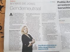Het genderneutrale vraagstuk
