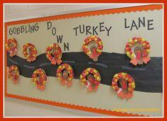 photo of: Turkeys on the Bulletin Board via RainbowsWithinReach
