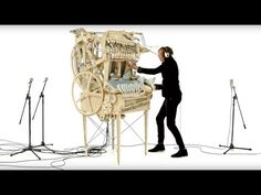 Marble Machine built and composed by Martin Molin Video filmed and edited by Hannes Knutsson Costume designed by Angelique Nagtegaal Swedish band Wintergatan...