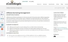 This is the picture of the a SEO company named eCommangels .  This is a uk based company which is providing the best seo services .  Affiliates are a risk free marketing tool as they are only paid if they produce sales. Affiliate programmes need to be  Tip and strategies learning internet marketing learn how to earn $160 to $400 dollars daily @ ===>>http://MAKE-MONEY-QUICK-NO-BS.COM