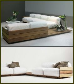 Amazing Inspirations Contemporary Sofa Design You Must See - Living room - Sofas Living Room Grey, Living Room Sofa, Living Room Furniture, Living Rooms, Sofa Furniture, Pallet Furniture, Furniture Design, Furniture Ideas, Furniture Buyers