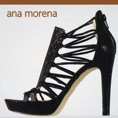 Create your own perfect night with this high impact caged heels. An ana morena favourite.  www.anamorena.eu