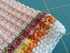 Die Linkshänderin: Alltagshelden-Creadienstag: Gestrickte Waschlappen Knitting, Crochet, Minis, Stitches, Amazing, Knitted Washcloths, Potholders, Knitting Patterns, Knitting And Crocheting
