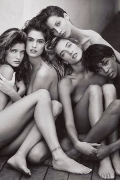"Supermodels The Iconic Herb Ritts Photograph 1989 | (http://vflm.tv/1bnpTw3 )   Herb Ritts ""Supermodels"", 1989 – Stephanie Seymour, Cindy Crawford, Christy Turlington, Tatjana Patitz and Naomi Campbell FINAL:    RAW:          Category: #Photography Tagged: #Supermodels, #1989, #ChristyTurlington, #CindyCrawford, #HerbRitts, #MTV, #NaomiCampbell, #StephanieSeymour, #Supermodel, #TatjanaPatitz, #TheMainFrame"