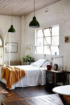 Industrial Möbel Schlafzimmer Lampem