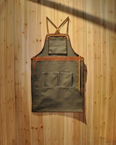 This workman's apron, the result of Vanport Outfitters' collaboration with Hand-Eye Supply isn't intended for grilling, but it has the same ...