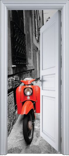 Image result for trompe l'oeil scooter