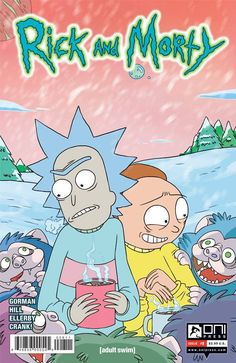In this holiday special issue illustrated by series writer Zac Gorman, Rick and Morty celebrate Blumbus, a strange, alternate reality version of Christmas...with a shocking twist! If Morty can survive