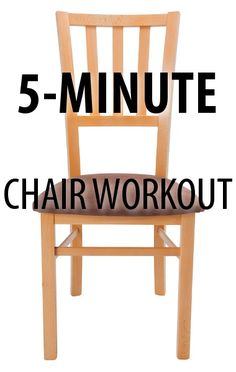 Dr Oz invited trainer Chris Powell to share four exercises you can do in just five minutes to build more muscle and burn fat, like his Chair Squat move. http://www.recapo.com/dr-oz/dr-oz-exercise/dr-oz-chris-powell-chair-squat-high-knees-chair-crunch-exercises/