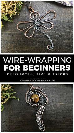 Wire Jewelry Making, Jewelry Making Tutorials, Wire Wrapped Jewelry, Beginner Jewelry Making, Wire Jewelry Designs, Handmade Wire Jewelry, Diy Jewelry, Beaded Jewelry, Jewlery