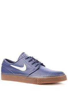 Get $16 off with RepCode JOLT135 on The Janoski in Blue Recall and White by Nike Skateboarding