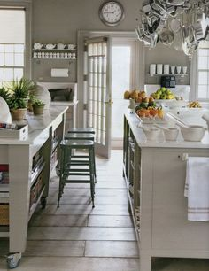 Martha Stewart cabinets  | Martha stewart kitchen september 2010