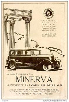 1928, Minerva, Milaan