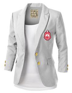 Delta Sigma Theta Blazer - The College Crib Delta Sigma Theta Apparel, Sigma Gamma Rho, Blazer Outfits Casual, Blazer Fashion, Emo Fashion, Tomboy Outfits, Emo Outfits, Lolita Fashion, Fashion Dresses