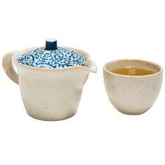Textured Wheat Japanese Tea Set : New Arrivals