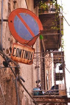 street sign • Palermo • Sicily