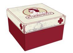 Caixa de Remédios Enfermeira
