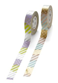 Glad to Adhere It Tape Set in Multicolor Mashup