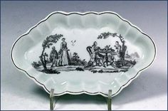 Worcester print spoon tray