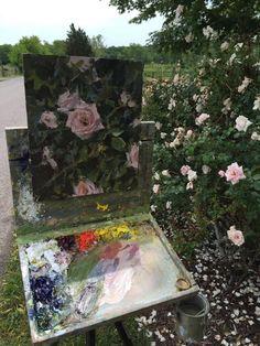 a24dd85f2777410ddb286334cc91632d--floral-paintings-landscape-paintings.jpg (720×960)