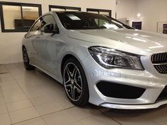 Thank you to our installer's for sending photos this morning #RimPro-Tec look's Amazing on the Mercedes. #RimPro-Tec Silver Base/ Silver Inners. The #New Car is ready to be delivered to the New Owner, with RimPro-Tec Wheel Protection on.  The Client is very satisfied!