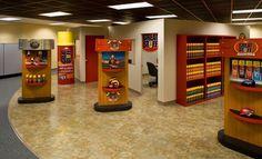 HardCore: Grid, Malta luxury vinyl tile is a great addition to the Dow Chemical Company GreatStuff showroom in Marietta, GA. Luxury Vinyl Flooring, Luxury Vinyl Tile, Office Floor, Malta, Showroom, Grid, Design, Malt Beer, Fashion Showroom