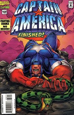 Cover for Captain America (Marvel, 1968 series) #436