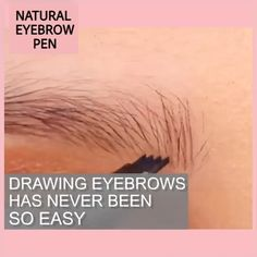 Highly comfortable, Natural Tattoo EyeBrow Pen features a micro-fork tip applicator that creates hair-like strokes for brows that last all day. Get the perfect eyebrow daily with in seconds. How To Color Eyebrows, Perfect Eyebrows, Eyebrow Makeup Tips, Beauty Makeup, Eyebrow Tattoo, Pen Tattoo, Natural Eyebrows, Step By Step Hairstyles, Anti Aging Facial