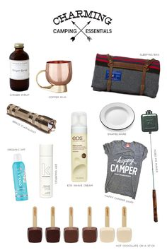Charming Camping Essentials - Sugar and Charm - sweet recipes - entertaining tips - lifestyle inspiration