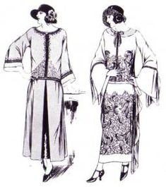 Women's Clothing - 1920s - Clothing - Dating - Landscape Change ...