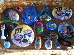 Rocks I painted