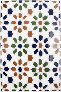 Cordoba Decorated Field Tiles