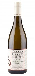 Wine of the Week, Winery of the Month, Rhone white from Tablas Creek review.