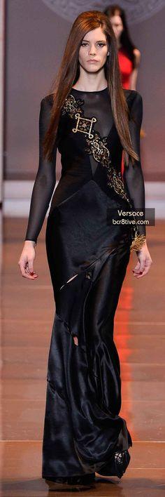 Versace FW 2014 #MilanFashionWeek