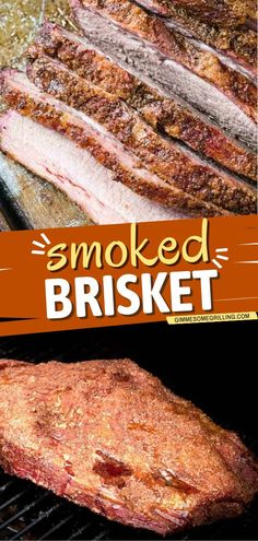 The ultimate smoked brisket to make for a delicious summer dinner! This beef recipe has an amazingly crunchy bark, juicy brisket that's bursting with smoked meat flavor. Save this easy main dish! Summer Grilling Recipes, Summer Recipes, Grilling Ideas, Easy Family Meals, One Pot Meals, Easy Meals, Easy Homemade Recipes, Easy Dinner Recipes, Light Summer Meals