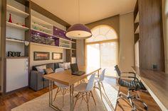 Projeto Juliana Stefanelli Arquitetura Casa Swiss Escritório Home Office Interior Design  Decoração
