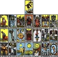Small Stuff's PrintMini: Printable Dollhouse Miniatures & Printies  Tarot Cards:  Major Arcana