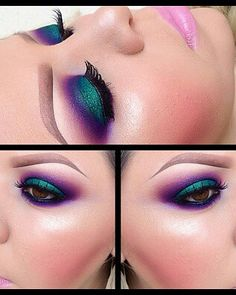 Gorgeous Makeup: Tips and Tricks With Eye Makeup and Eyeshadow – Makeup Design Ideas Gorgeous Makeup, Love Makeup, Makeup Inspo, Makeup Art, Makeup Inspiration, Makeup Tips, Hair Makeup, Makeup Ideas, Dance Makeup